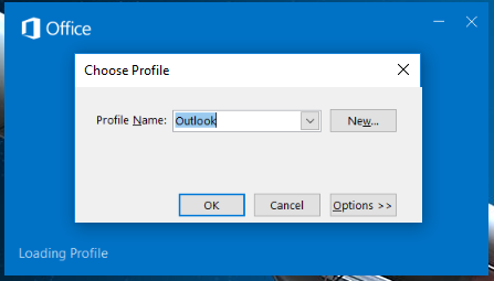 how to run outlook in safe mode